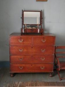 Port Arthur Historic Site, Commandant's House, Chest of Drawers in the Bedroom