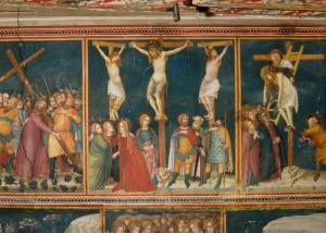 THE PASSION OF CHRIST: Scene of the Crucifixion