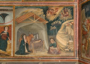 THE JOYS OF THE VIRGIN: Scene of the Nativity