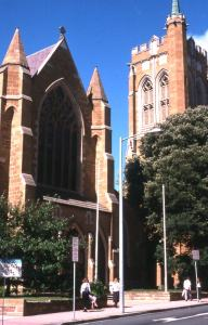 St David's Cathedral Today, View from Murray St