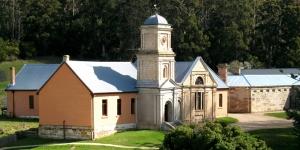 Port Arthur Historic Site, Asylum (L) and Separate Prison (R)