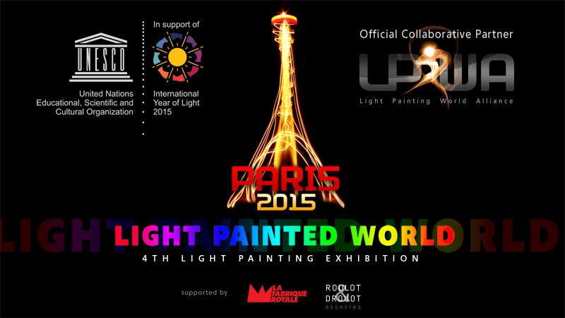 Light Painted World