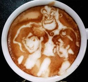Coffee Art by Kazuki Yamamoto, Osaka, Japan - 03 May 2013