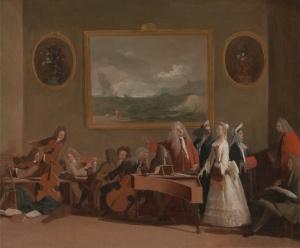 Marco Ricci - Rehearsal of an opera
