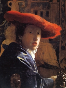 Vermeer - Girl With a Red Hat