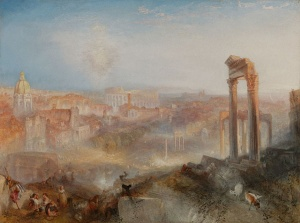 J. M. W. Turner, Modern Rome – Campo Vaccino (1839)