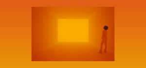 James Turrell 'Sight unseen' 2013 Ganzfeld: LED light Villa e Collezione Panza, Varese (Italy)