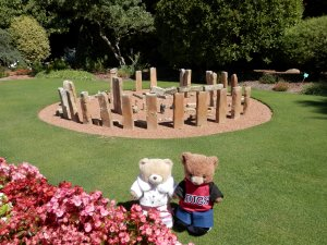 Cockington Green Gardens, Model of Stonehenge, Amesbury, UK