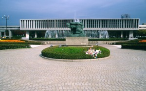 Hiroshima Peace Memorial Museum, Hiroshima, 1955