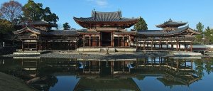 Phoenix Hall of Byodo-in Temple, Uji City, Kyoto Prefecture, Japan