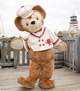 Duffy  in his Sweet Duffy Outfit 2010 at Tokyo DisneySea