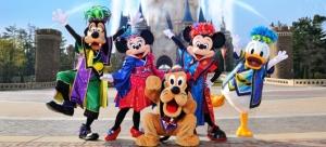 Mickey and Minnie wear Soryo Kobu dance outfits for Natsu Matsuri Festival 2012 at Tokyo Disneyland