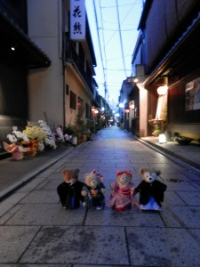 An Evening Stroll in Gion