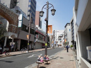 Saturday morning along the Kagurazaka Slope