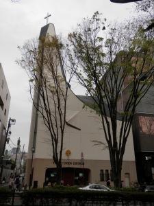 Tokyo Union Church on Omotesando