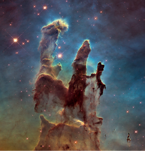 The Eagle Nebula. Credit: NASA and ESA