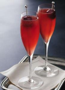 Cherry Vodka Champagne