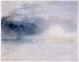 J. M. W. Turner, Bamburgh Castle, Northumberland (c.1837 )