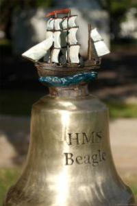 HMS Beagle Ship Bell Chime