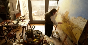 Timothy Spall plays the painter in the film Mr Turner