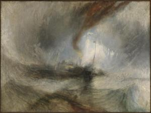 Snow Storm - Steam-Boat off a Harbour's Mouth exhibited 1842