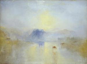J. M. W. Turner, Norham Castle, Sunrise c.1845