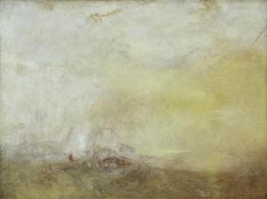J. M. W. Turner, Sunrise with Sea Monsters c.1845