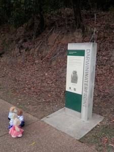 Larrakia sacred site: Stokes Hill