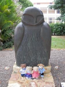 Bronze Owl. Artist Koolpinyah Barnes.