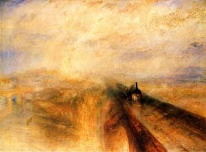 J. M. W. Turner, Rain, Steam and Speed (1844)