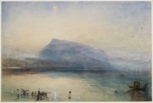 J. M. W. Turner, The Blue Rigi, Sunrise (1842)