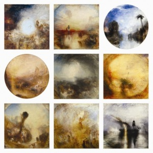 J. M. W. Turner's controversial square paintings (some of which are round)