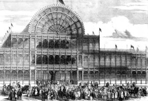 Hyde Park, Crystal Palace, 1861