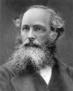 James Clerk Maxwell in his 40s