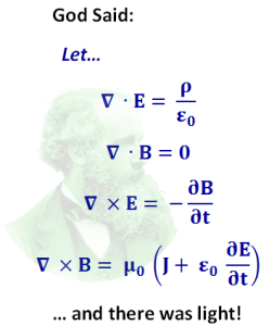 Maxwell's Equations presented using vector calculus