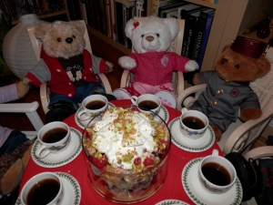 Decadent Cherry Fruit Trifles