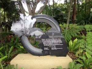 Daejeon and Brisbane Friendship Stone