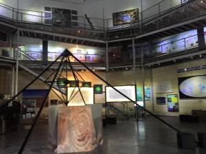 Cosmology Gallery, Gravity Discovery Centre