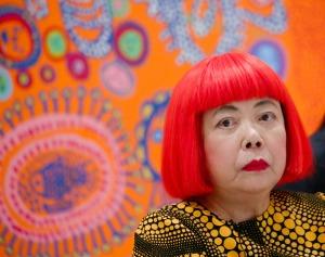 Artist Yayoi Kusama in 2013