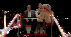 Sheldon, Darth Vader and a  teddy bear!