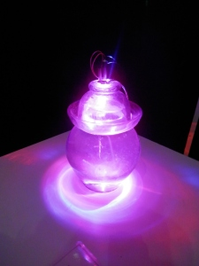 Vortex Beams - Coherence to Chaos, Laser Art, Gravity Discovery Centre