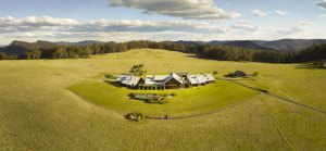 Spicers Peak Lodge Aerial View