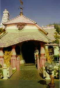 Disneyland California, 1997, Mickey's House