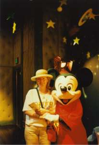 Disneyland California, 1997, with Mickey :smile: