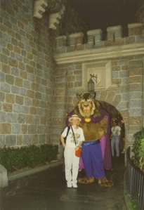 Disneyland California, 1997, Beauty and the Beast :smile: