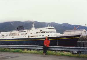 In front of the Matanuska