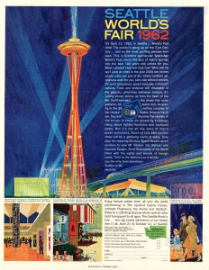 1962 Seattle World's Fair Poster
