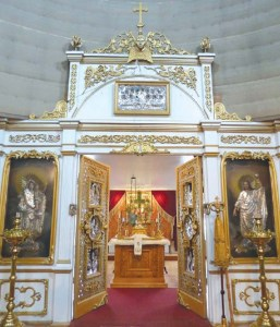 St. Michael's Cathedral - Altar screen