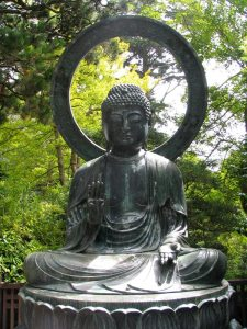 Buddha Statue in the Japanese Tea Garden