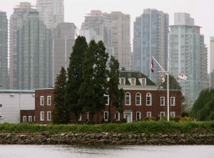 Deadman's Island and HMCS Discovery  Naval Reserve